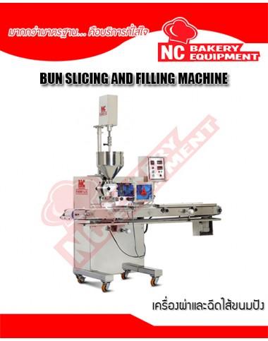 Bun Slicing and Filling Machine