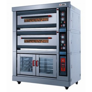 Gas Oven with Proofer NFR-40HF