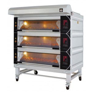 Deck Oven (NCB-NFD-EBE- 60D / 120D Electric)