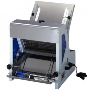 Bread Slicer with Protection cover and Pusher (NCB-TA-201)