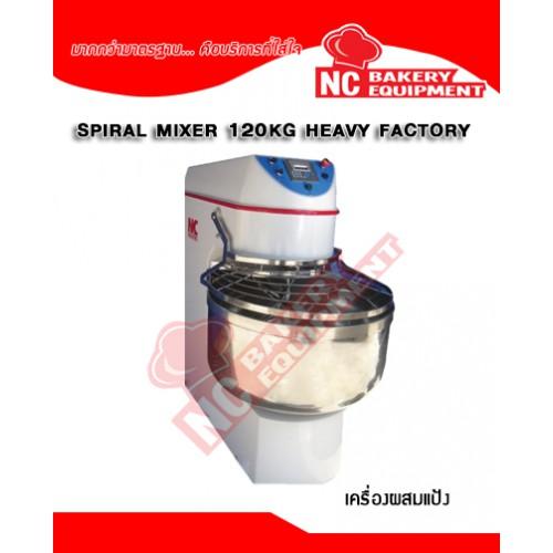 Spiral Mixer 120 KG Heavy...