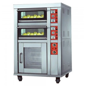 Deck Oven with Proof (NCB-YXD-1212CBF Electric)